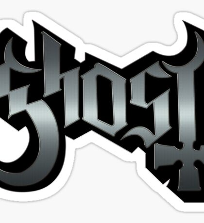 GHOST - reel steel Sticker