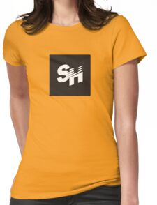 SpeedHunters - Square Logo Womens Fitted T-Shirt