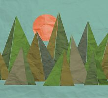 Crumpled Mountains  by rebeccagoddard