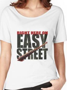 The Walking Dead - Easy Street Women's Relaxed Fit T-Shirt