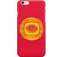 Chief Ring iPhone Case/Skin