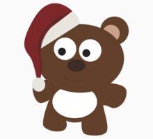 Cute Christmas TeddyBear Kids Tee