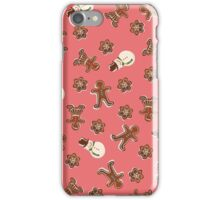 Gingerbread Cookies | Red iPhone Case/Skin