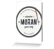 Sebastian Moran  Greeting Card