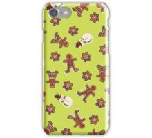 Gingerbread Cookies | Green iPhone Case/Skin