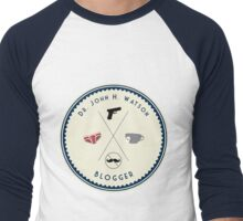 John Watson - Blogger Men's Baseball ¾ T-Shirt