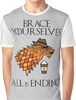 Fall is Ending Graphic T-Shirt