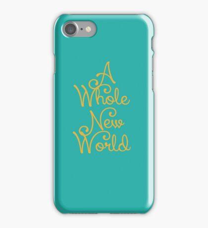 Aladdin A Whole New World iPhone Case/Skin