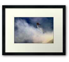 Barnett Fire Framed Print