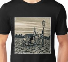 Vintage Steam Cab Taxi Unisex T-Shirt