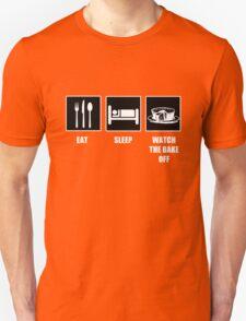 Eat Sleep Watch The Bake Off T-Shirt