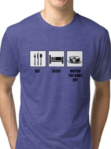 Eat Sleep Watch The Bake Off Tri-blend T-Shirt