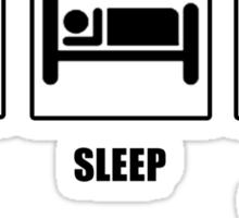 Eat Sleep Watch The Bake Off Sticker