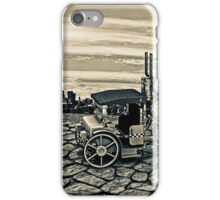 Vintage Steam Cab Taxi iPhone Case/Skin