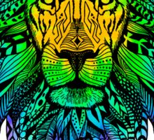 COOL LION MANDALA Sticker
