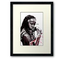 Michonne Framed Print