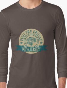 NEW JERSEY FISH FRY Long Sleeve T-Shirt