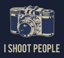 I Shoot People Photography Camera by TheShirtYurt