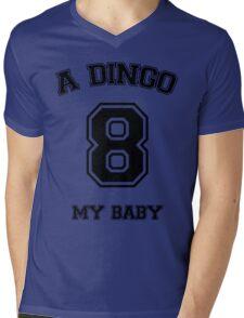 A dingo 8 my baby - black Mens V-Neck T-Shirt