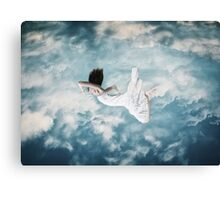 Cloud Swimmer Canvas Print
