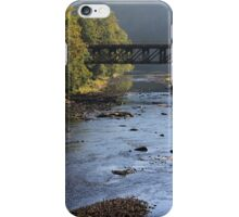 Trestle Over Lackawaxen River iPhone Case/Skin