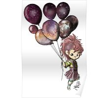 Space Balloons Poster