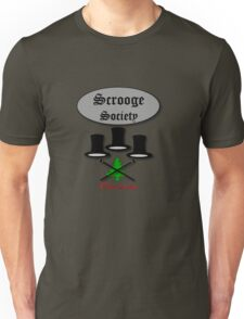 Bah Humbug Scrooge SocieTEE design Unisex T-Shirt