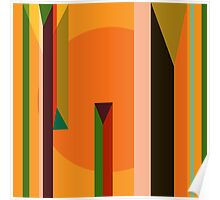 Abstract dynamic background Poster
