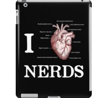 I Heart Nerds iPad Case/Skin