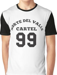 Don Diego 99 Norte del Valle Cartel Colombia Graphic T-Shirt
