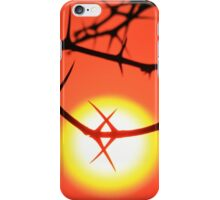 Red Thorn - Simply Majestic Nature  iPhone Case/Skin