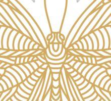 Butterfly - Papillon - Bug Sticker
