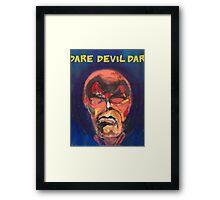 Dare Devil Framed Print