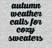 Autumn Weather Cozy Sweaters Pullover