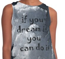 You Can Do It by Nikki Ellina Contrast Tank