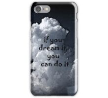 You Can Do It by Nikki Ellina iPhone Case/Skin
