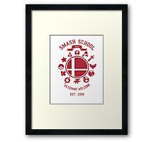 Smash School Veteran Class (Red) Framed Print