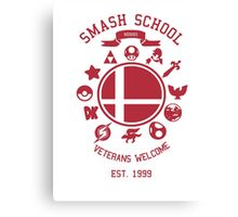 Smash School Veteran Class (Red) Canvas Print