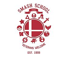 Smash School Veteran Class (Red) Photographic Print