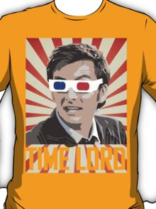 Time Lord With 3D Glasses T-Shirt