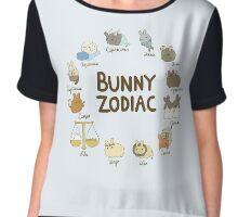 Bunny Zodiac Chiffon Top