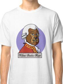 Wolfman Amadeus Mozart Classic T-Shirt