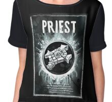 Priest Wow Chiffon Top
