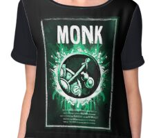 Monk Wow Chiffon Top