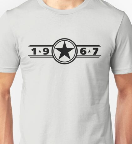 Star of 1967 Unisex T-Shirt