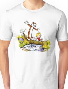 Calvin and Hobbes T-Shirt Unisex T-Shirt