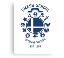 Smash School Veteran Class (Blue) Canvas Print