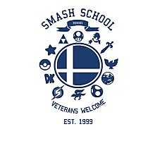 Smash School Veteran Class (Blue) Photographic Print