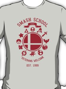 Smash School Veteran Class (Red) T-Shirt