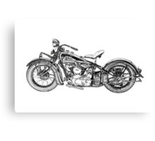 1937 Indian Chief Motorcycle Canvas Print